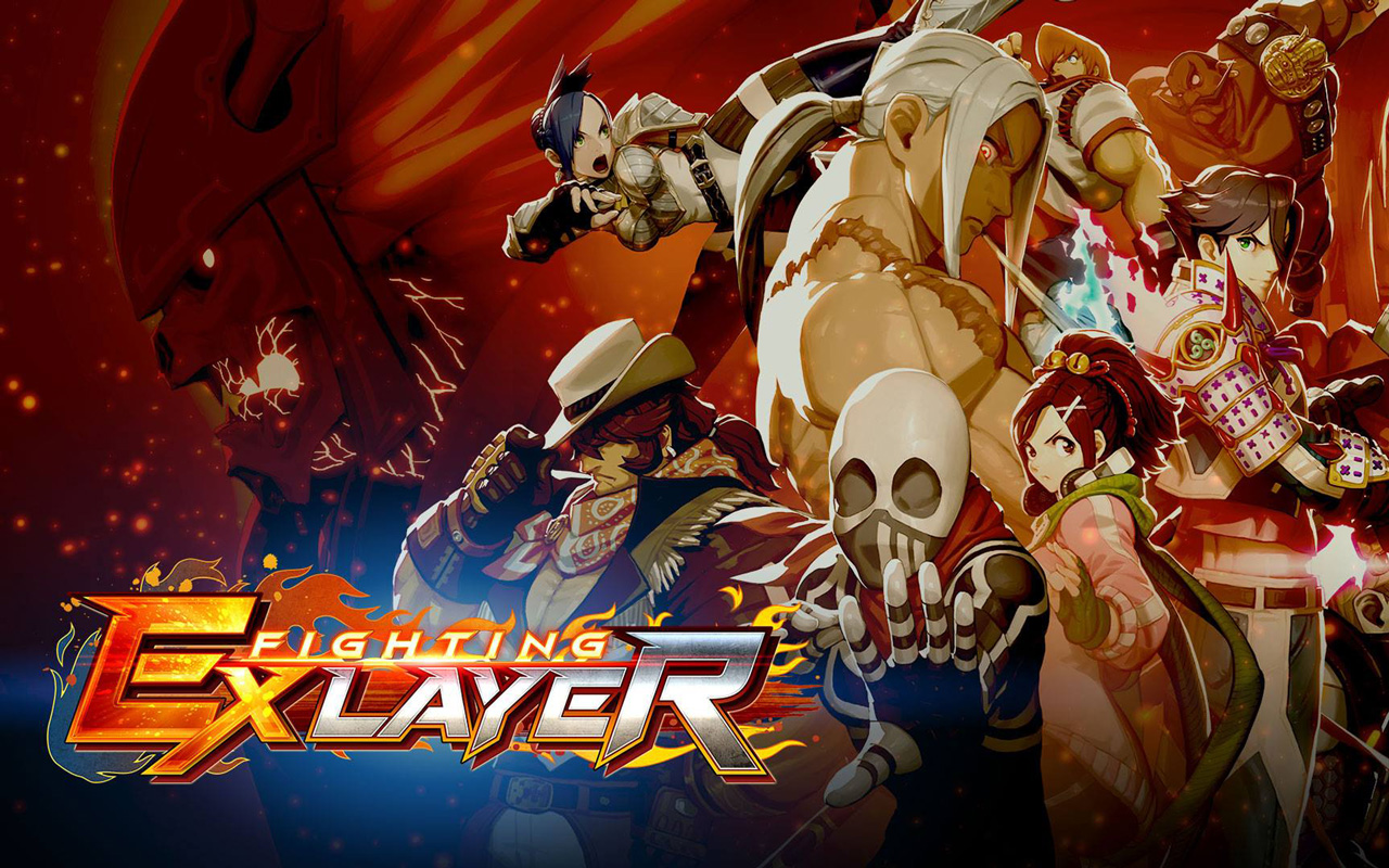 Free Fighting EX Layer Wallpaper in 1280x800