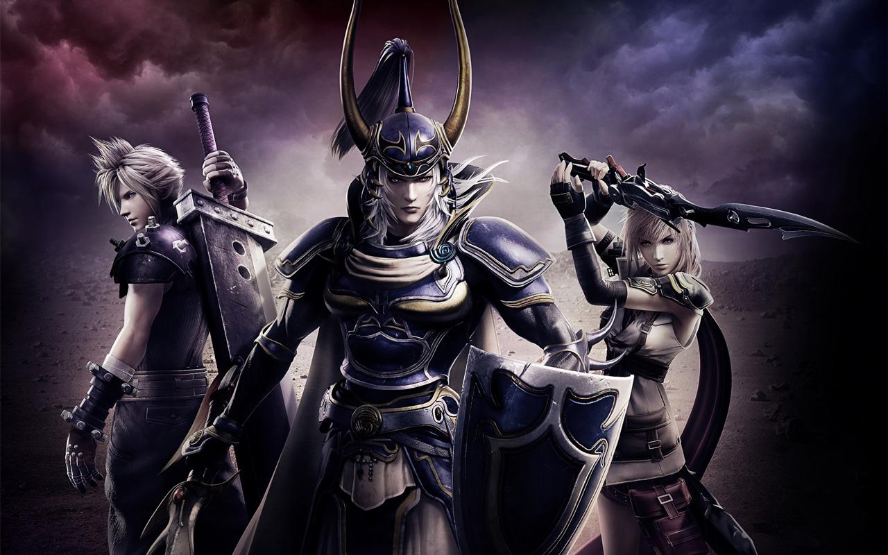 Free Dissidia Final Fantasy NT Wallpaper in 1280x800