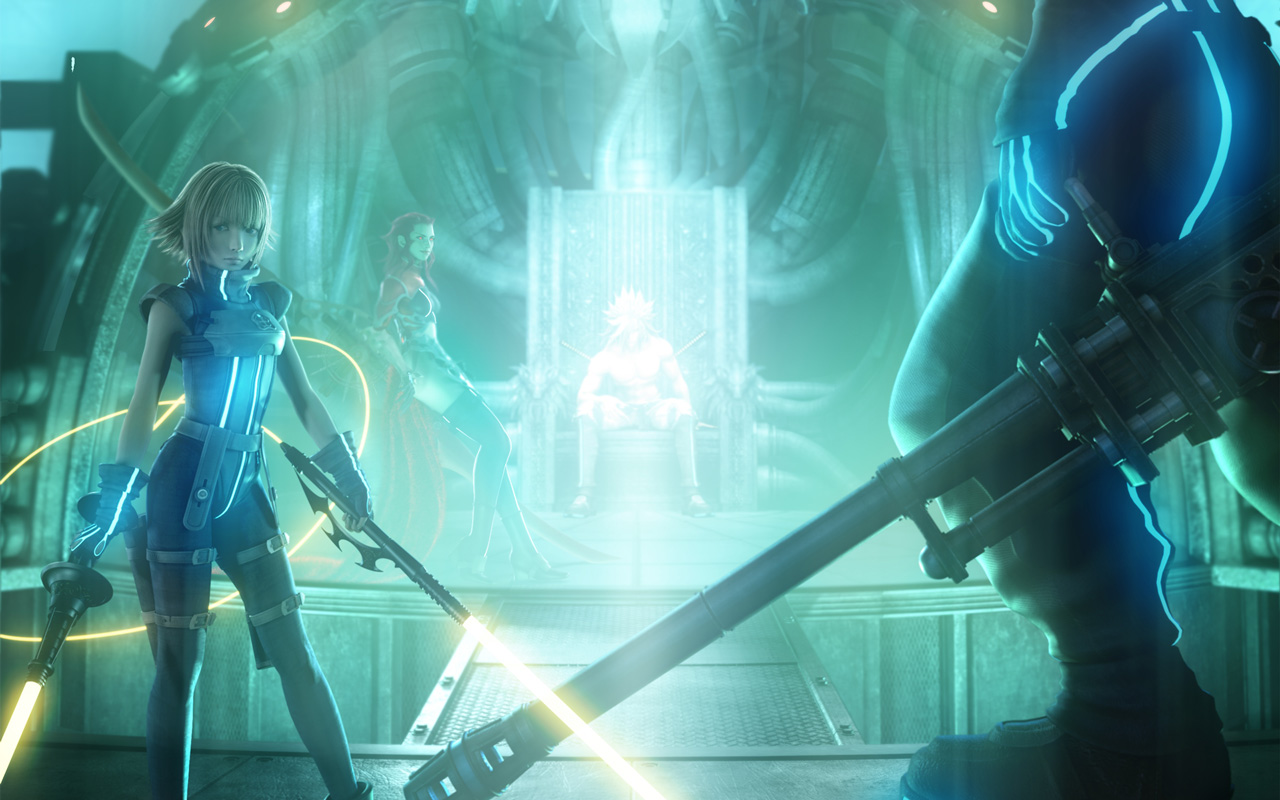 Free Dirge of Cerberus: Final Fantasy VII Wallpaper in 1280x800