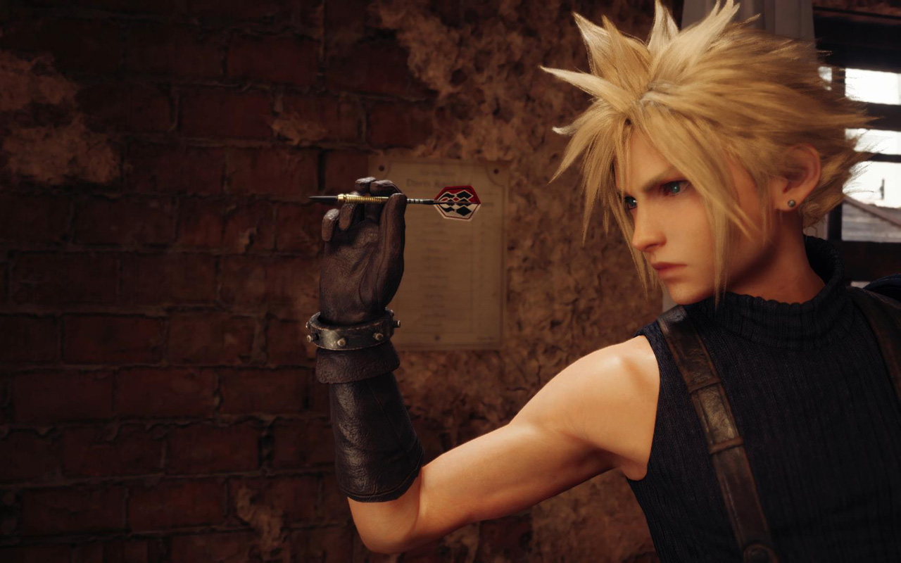 Free Final Fantasy VII Remake Wallpaper in 1280x800