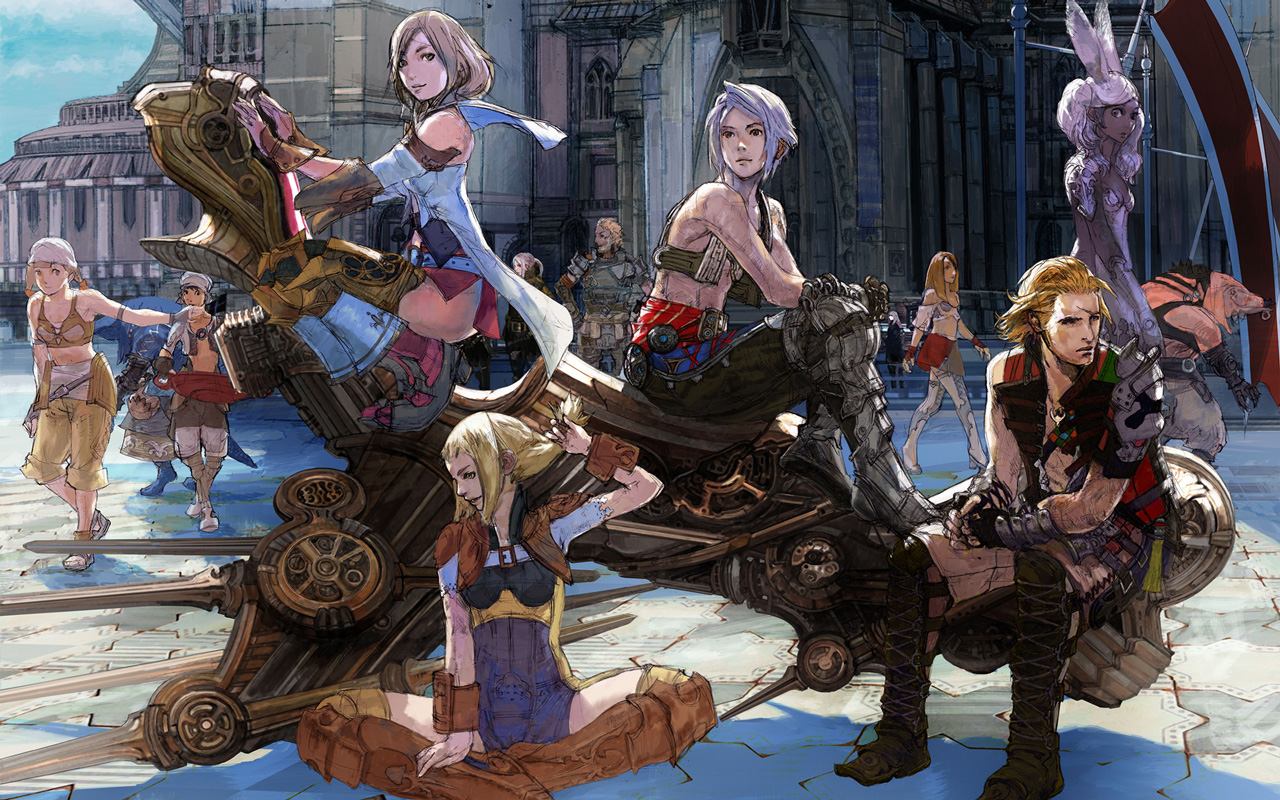 Free Final Fantasy XII Wallpaper in 1280x800