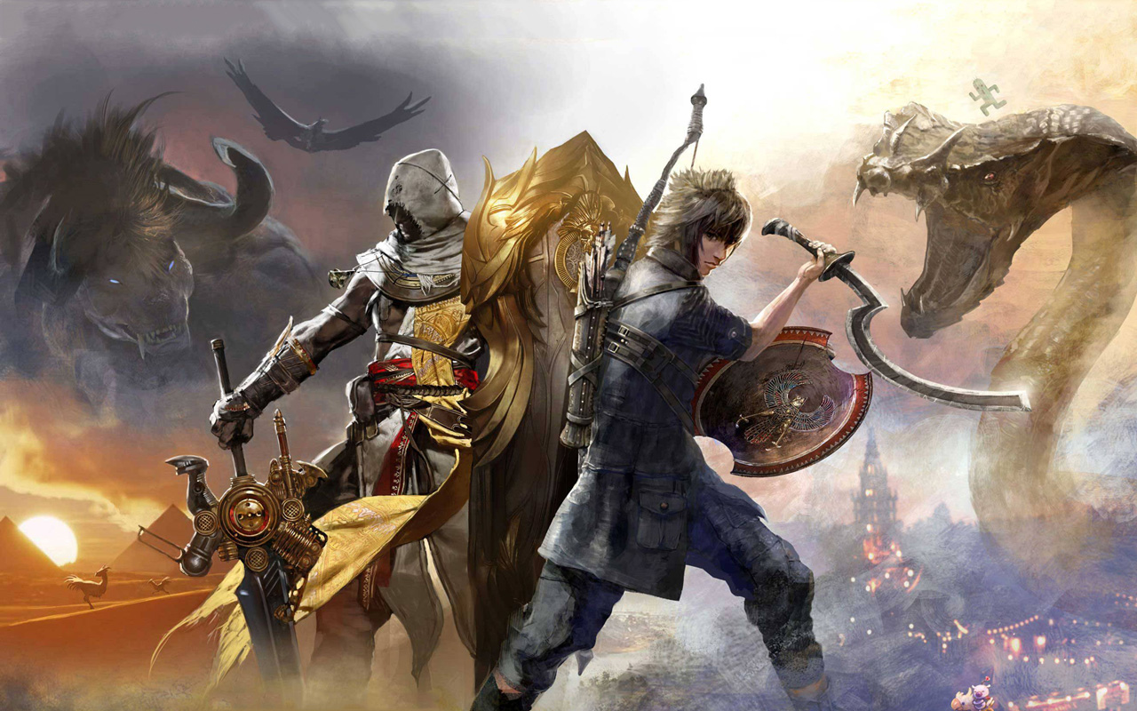 Free Final Fantasy XV Wallpaper in 1280x800