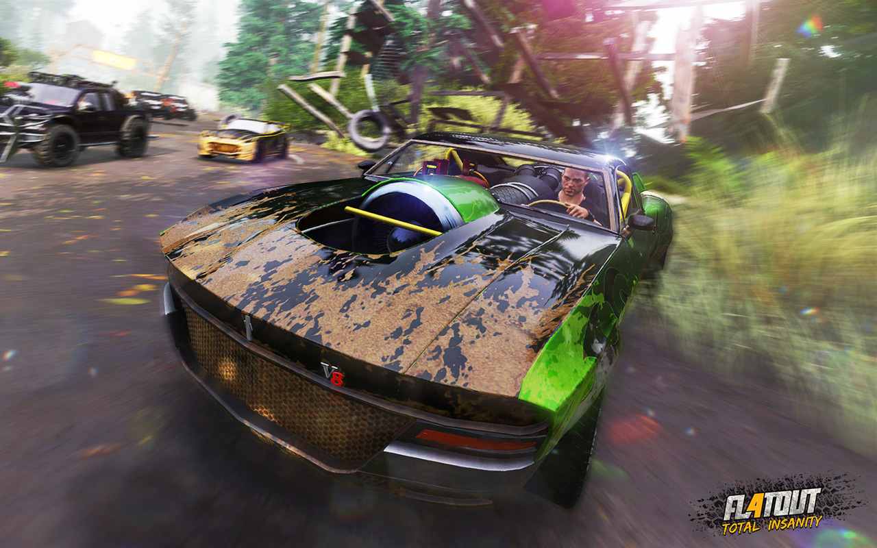 Free FlatOut 4: Total Insanity Wallpaper in 1280x800