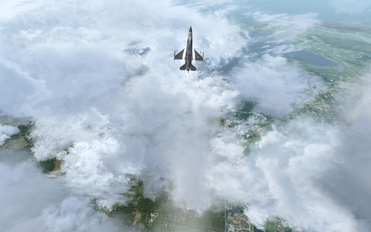 Free Flight Simulator X Wallpaper in 1280x800