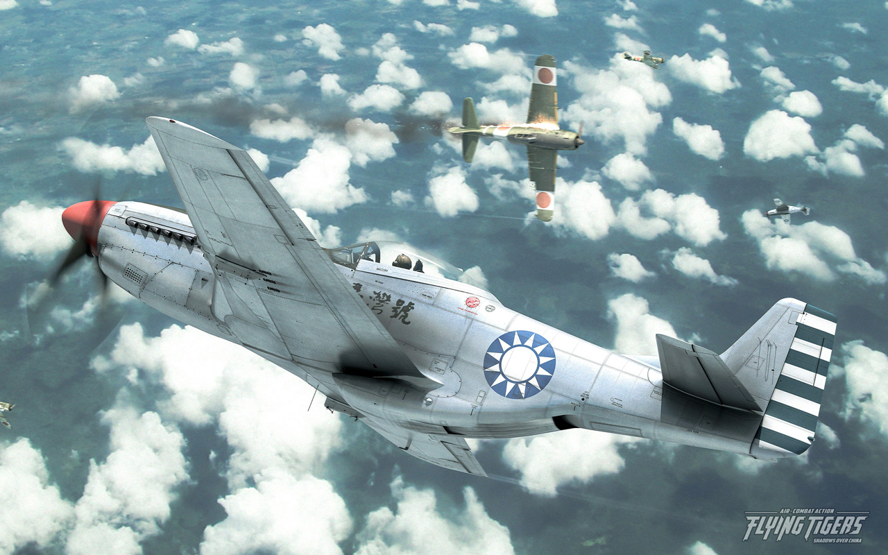 Free Flying Tigers: Shadows Over China Wallpaper in 1280x800