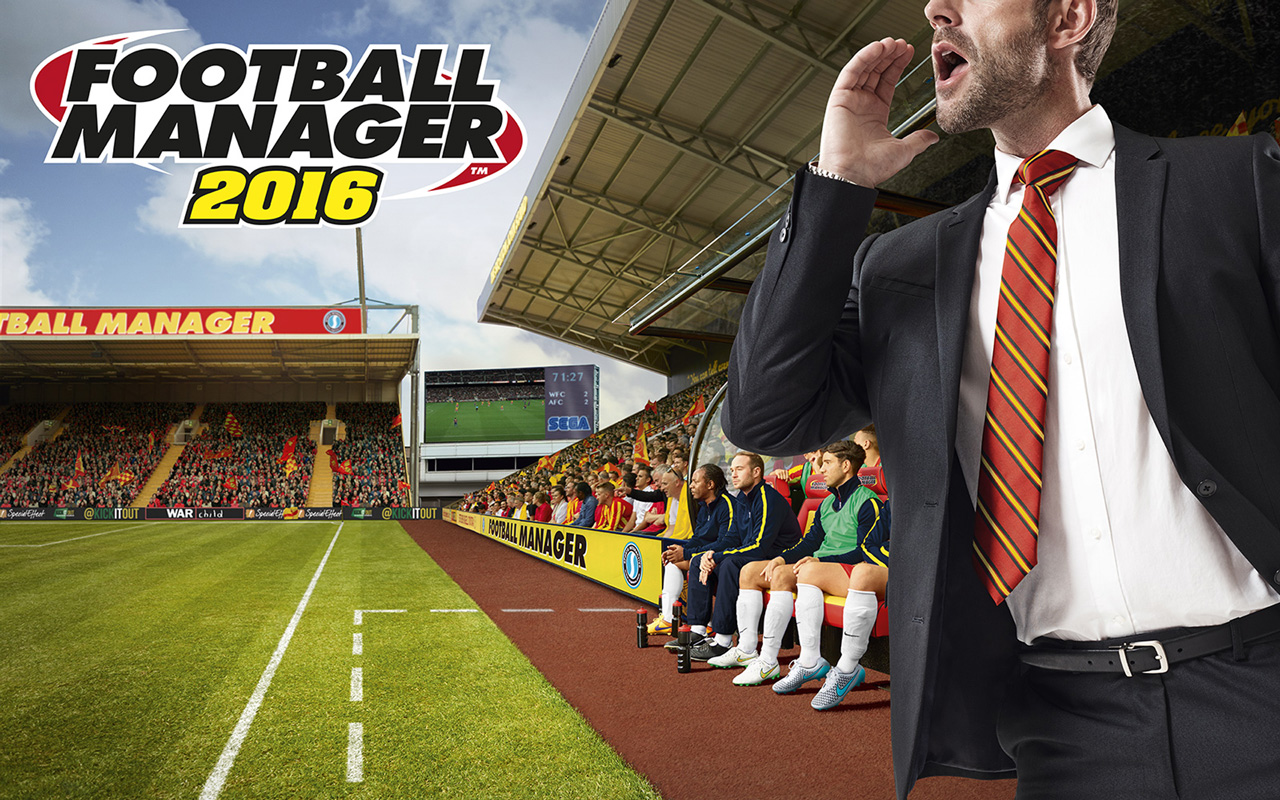Free Football Manager 2016 Wallpaper in 1280x800