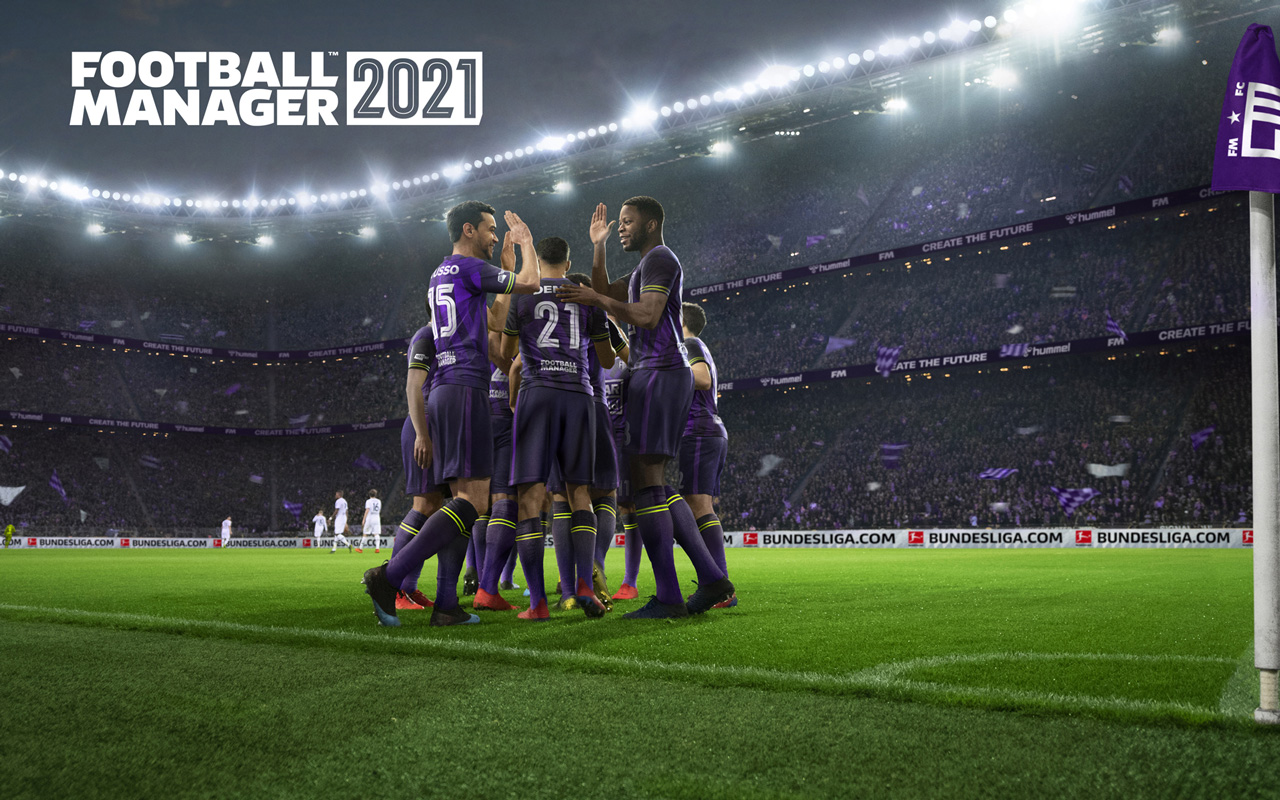 Free Football Manager 2021 Wallpaper in 1280x800