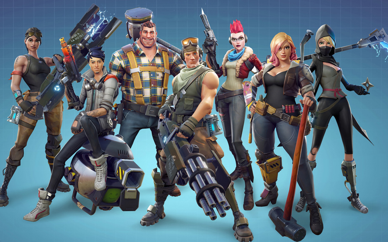 Free Fortnite Wallpaper in 1280x800