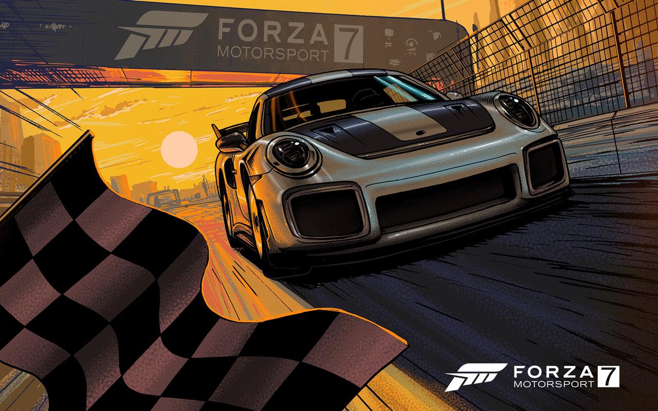 Forza Motorsport 7 Wallpaper in 1280x800