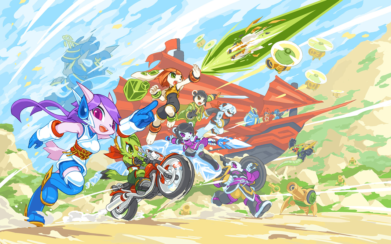 Free Freedom Planet 2 Wallpaper in 1280x800