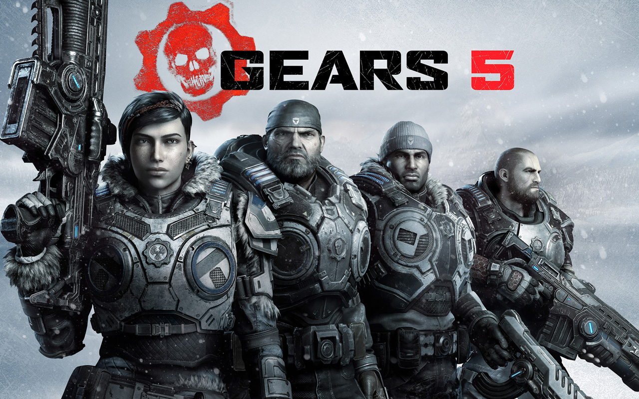 Free Gears 5 Wallpaper in 1280x800