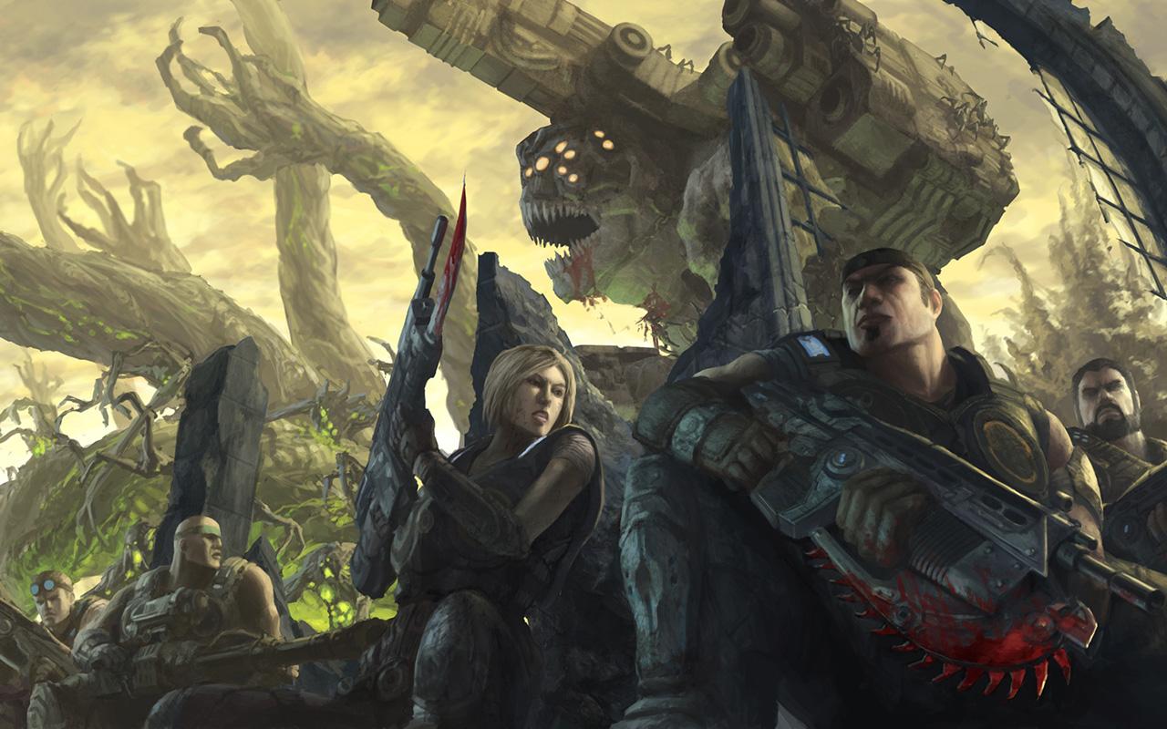 Free Gears of War 3 Wallpaper in 1280x800