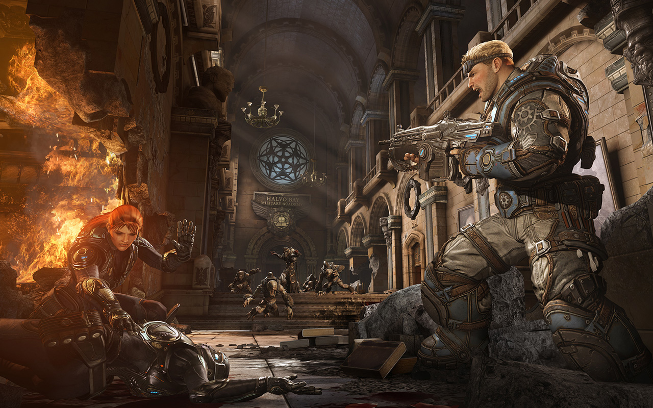 Free Gears of War: Judgment Wallpaper in 1280x800