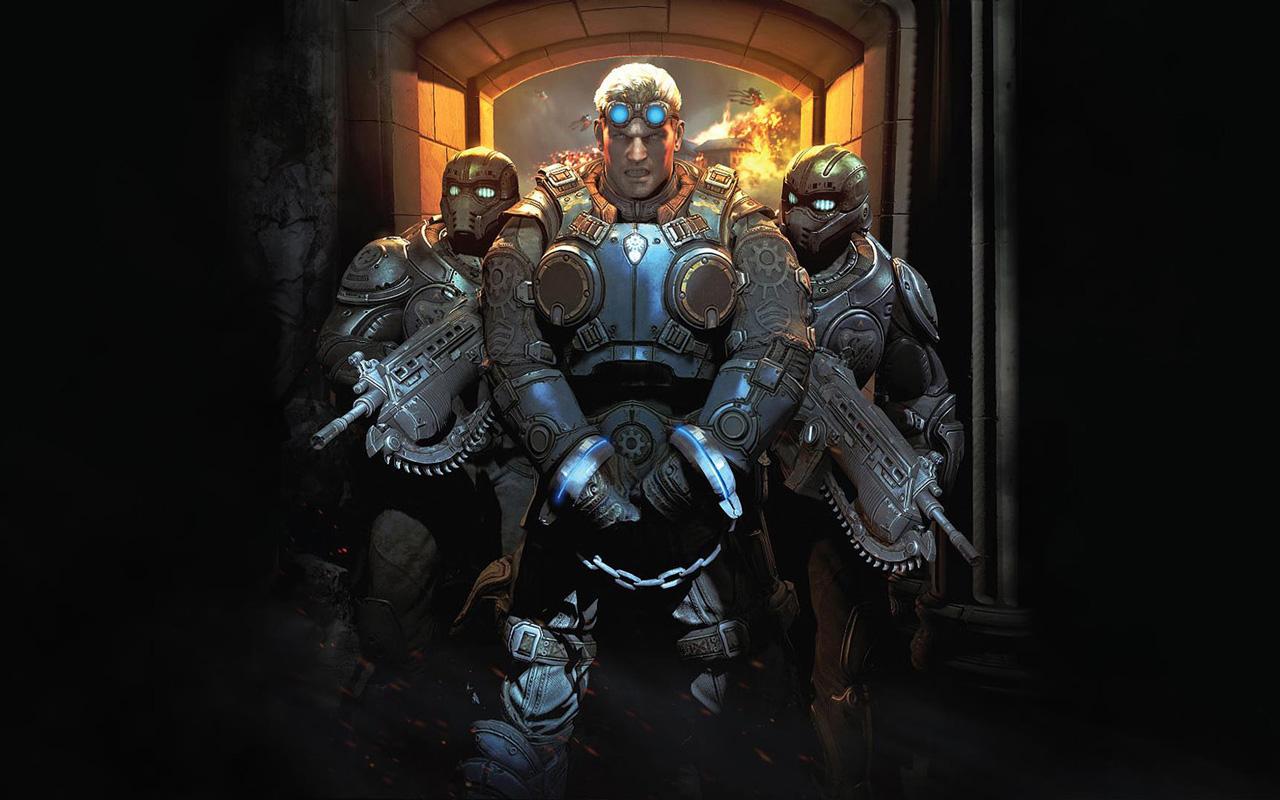 Gears of War: Judgment Wallpaper in 1280x800