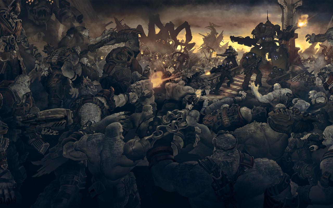 Free Gears of War Wallpaper in 1280x800
