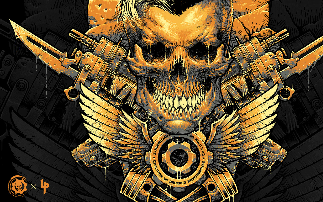 Free Gears Tactics Wallpaper in 1280x800