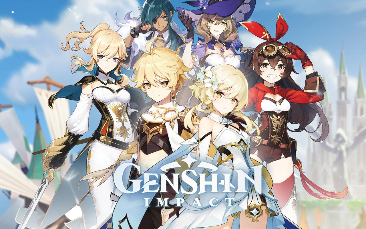 Free Genshin Impact Wallpaper in 1280x800
