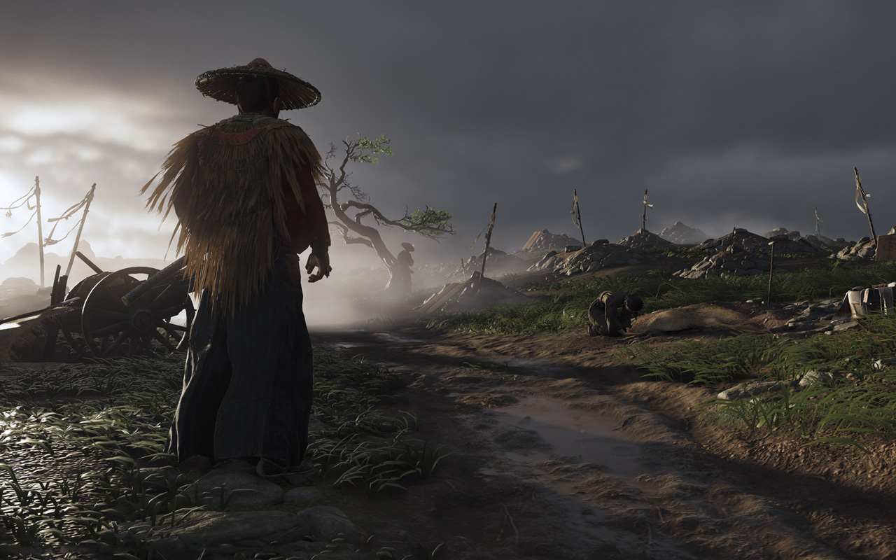 Free Ghost of Tsushima Wallpaper in 1280x800