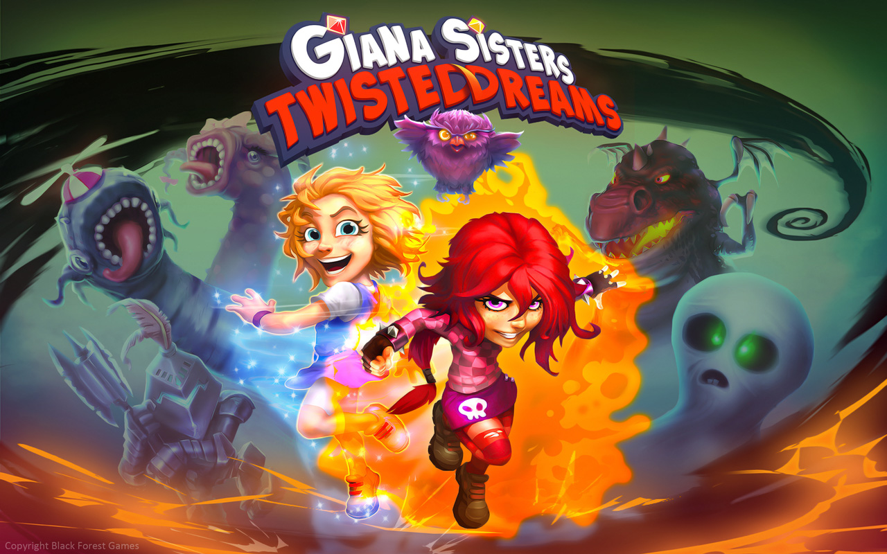 Free Giana Sisters: Twisted Dreams Wallpaper in 1280x800