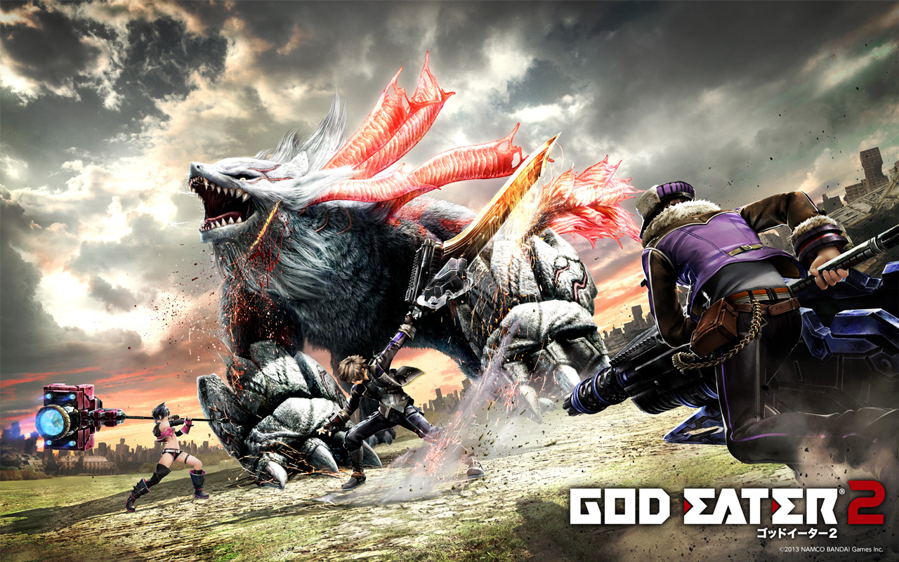 Free God Eater 2 Wallpaper in 1280x800
