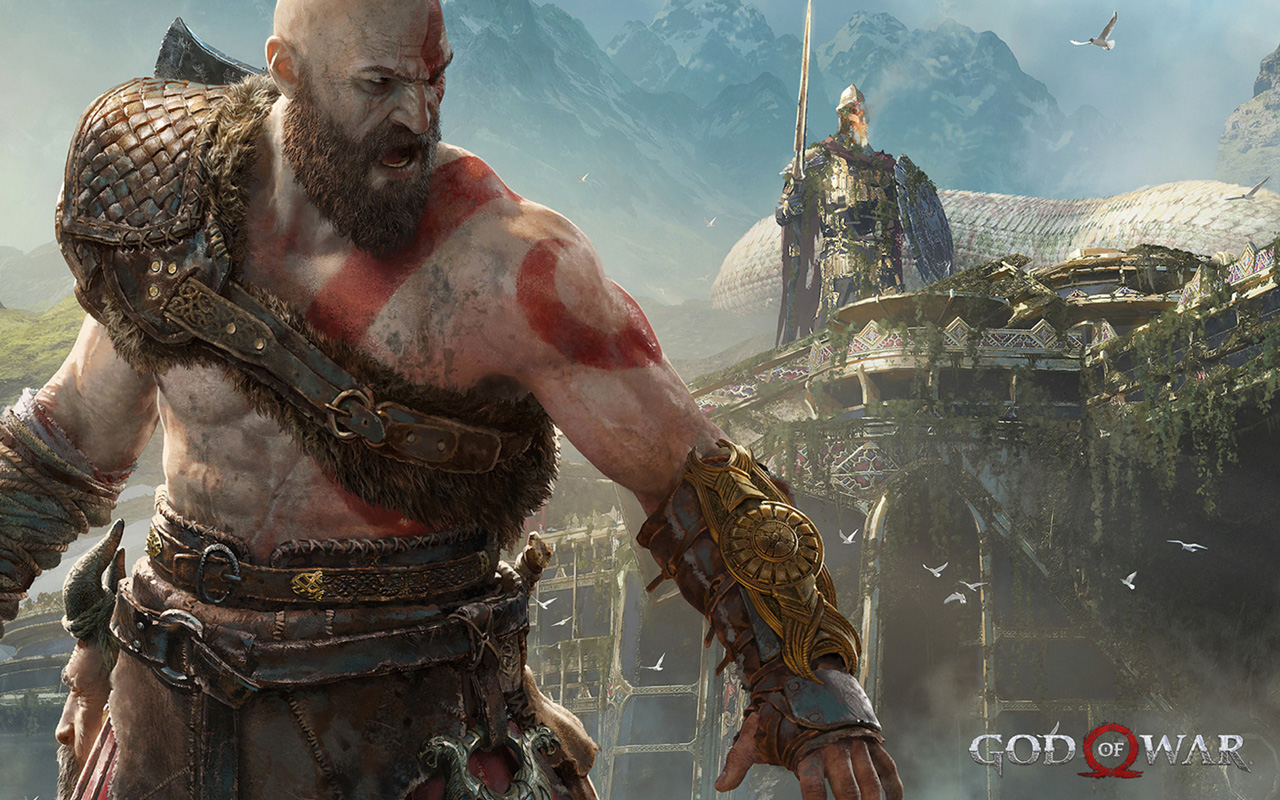 Free God of War (2018) Wallpaper in 1280x800