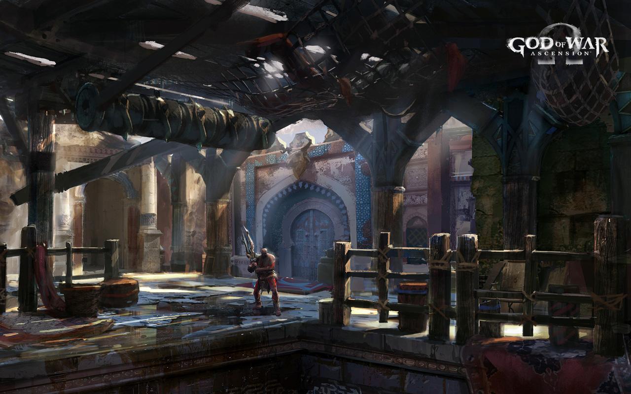 Free God of War: Ascension Wallpaper in 1280x800