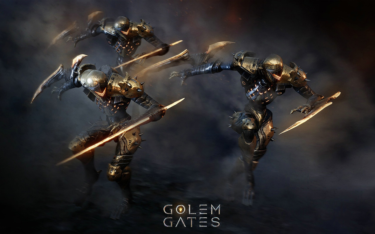 Free Golem Gates Wallpaper in 1280x800