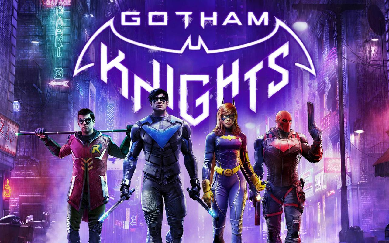 Free Gotham Knights Wallpaper in 1280x800