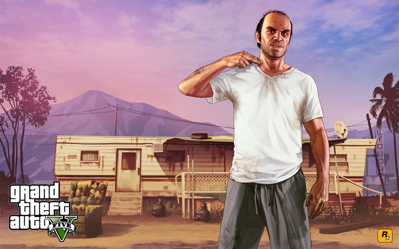 Grand Theft Auto V Wallpaper in 1280x800