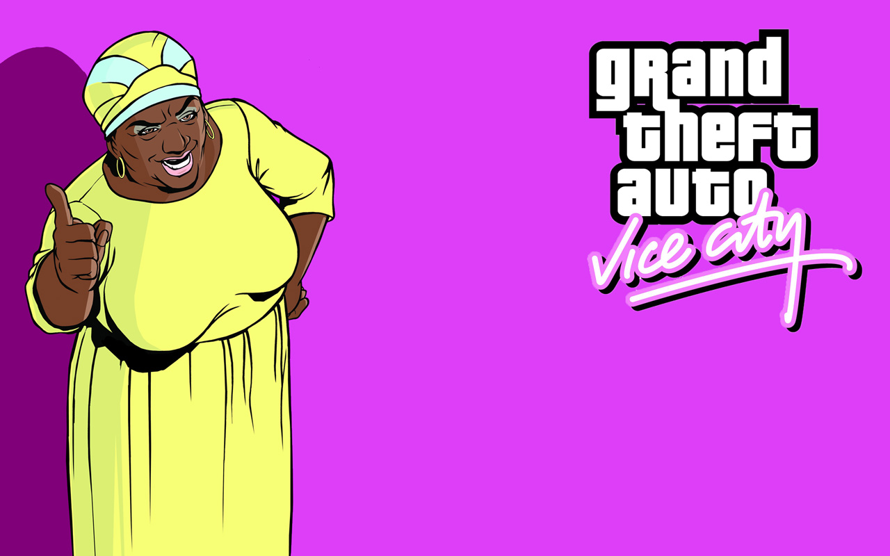 Free Grand Theft Auto: Vice City Wallpaper in 1280x800