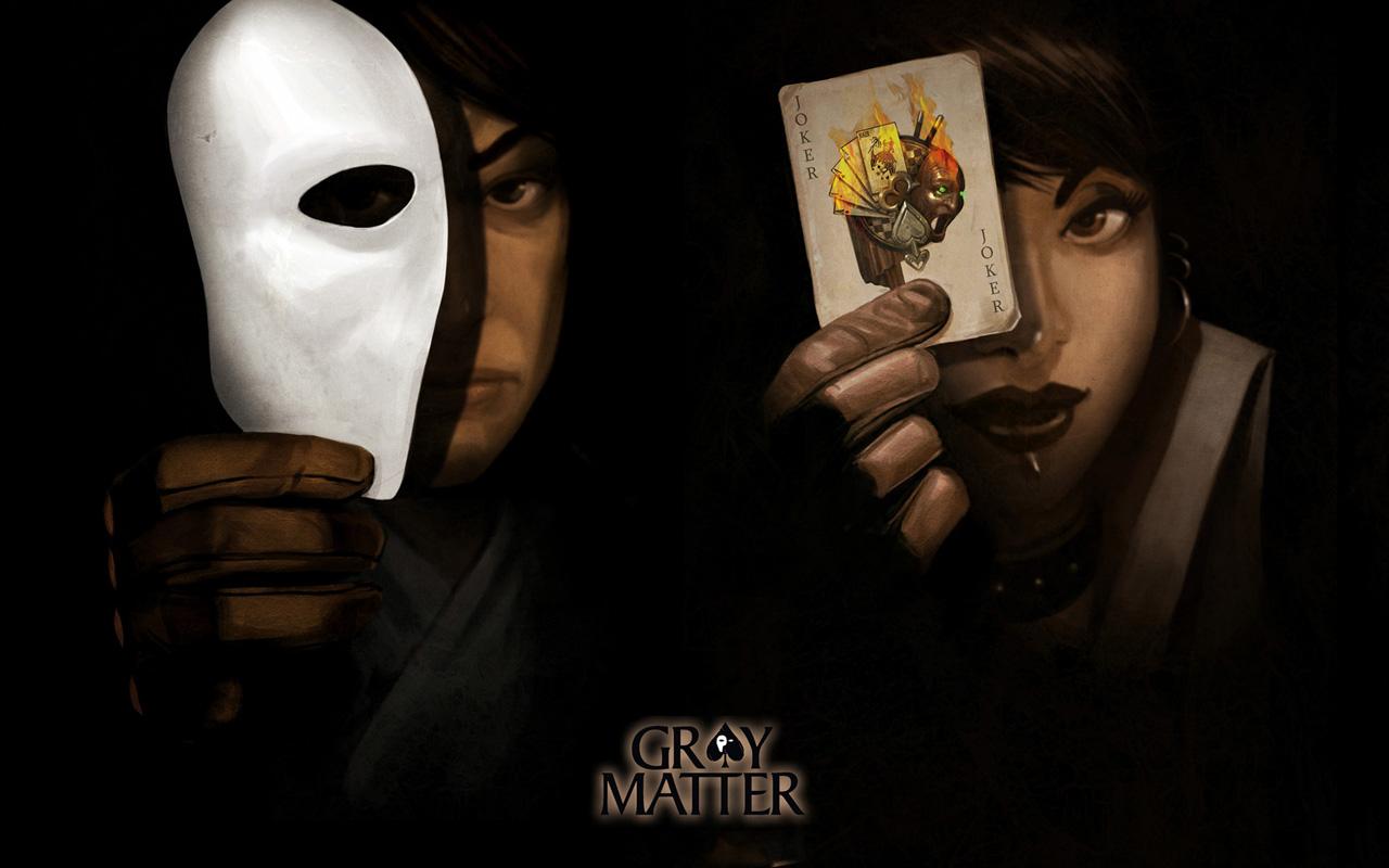 Free Gray Matter Wallpaper in 1280x800