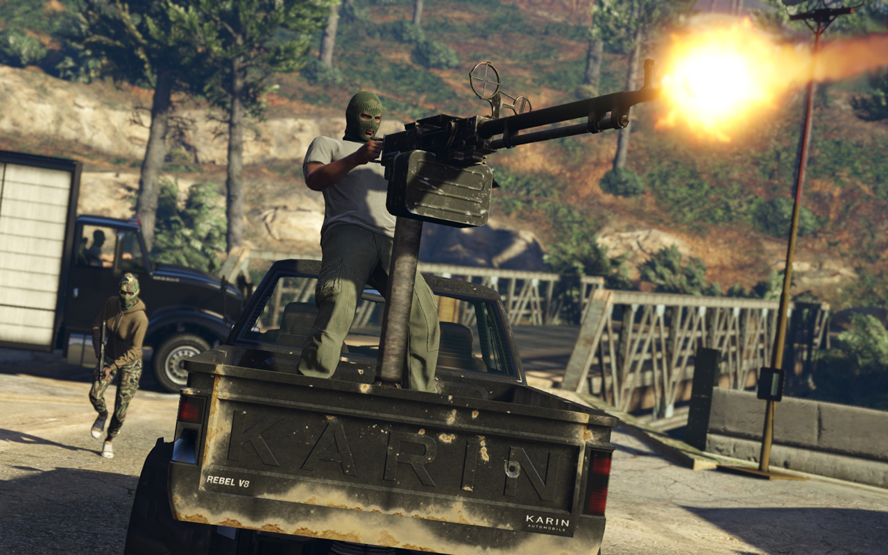 Grand Theft Auto V Wallpaper in 1280x800