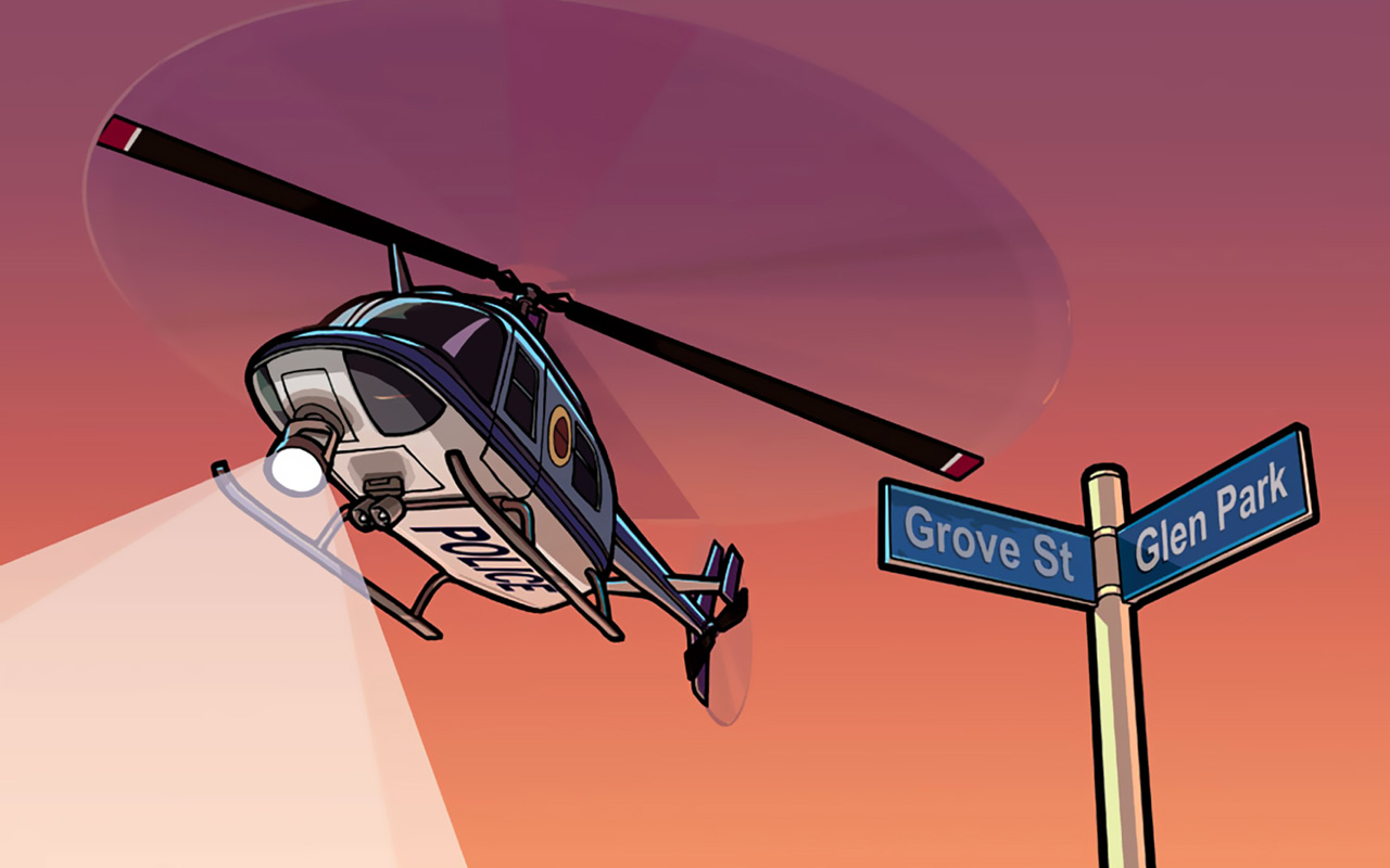 Free Grand Theft Auto: San Andreas Wallpaper in 1280x800