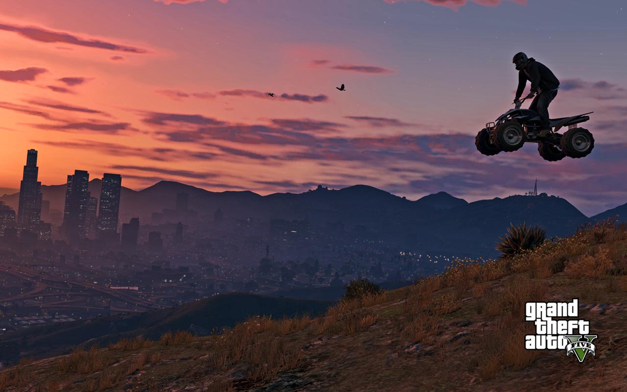 Free Grand Theft Auto V Wallpaper in 1280x800