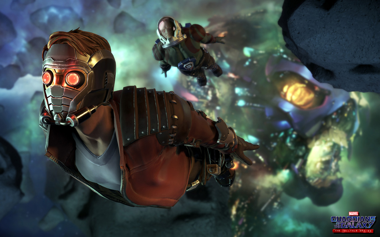 Free Guardians of the Galaxy: The Telltale Series Wallpaper in 1280x800