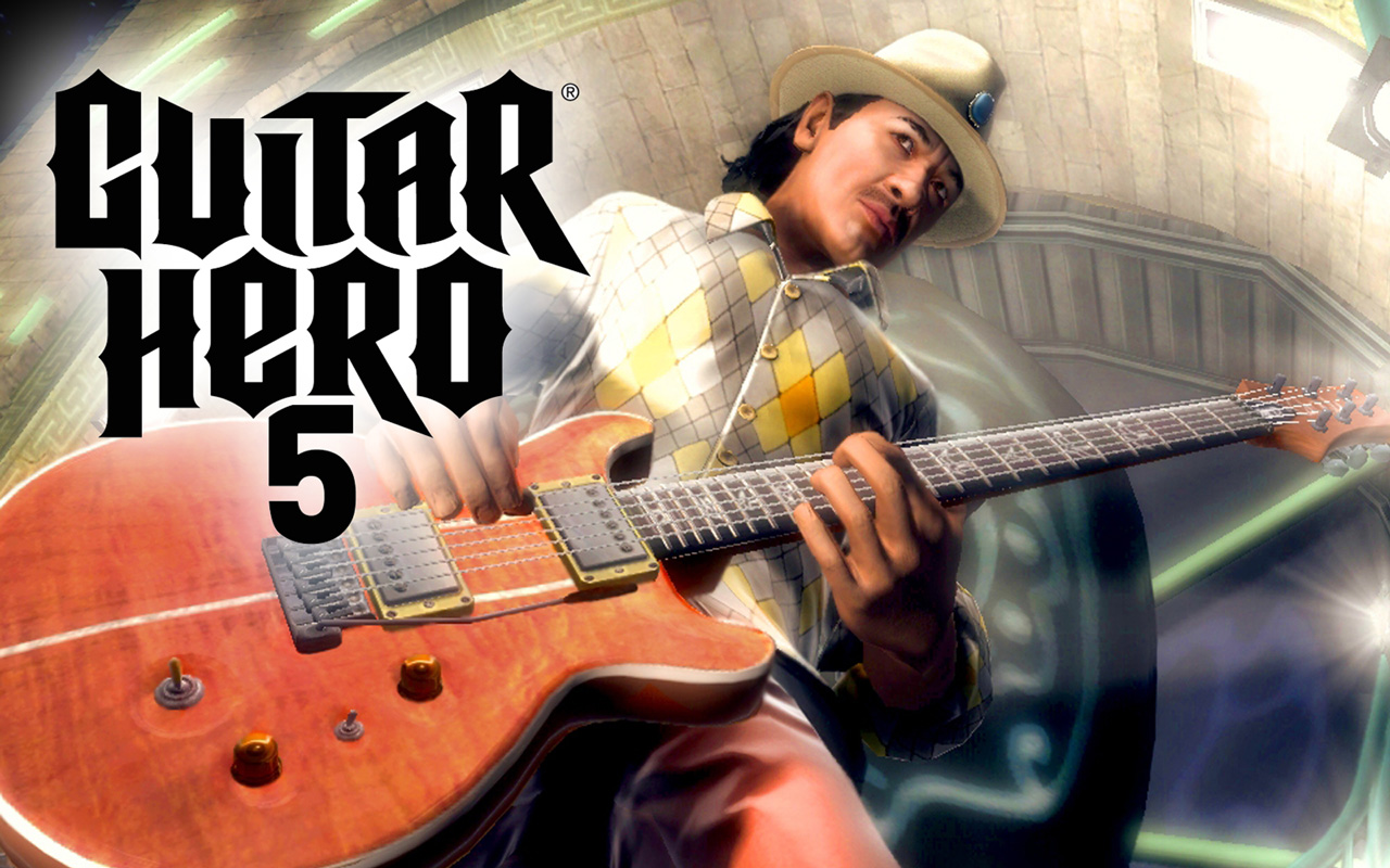 Free Guitar Hero 5 Wallpaper in 1280x800