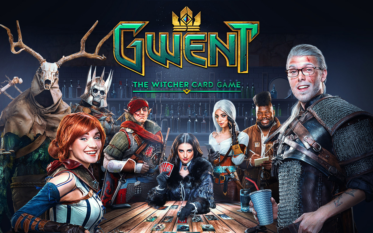 Free Gwent: The Witcher Card Game Wallpaper in 1280x800