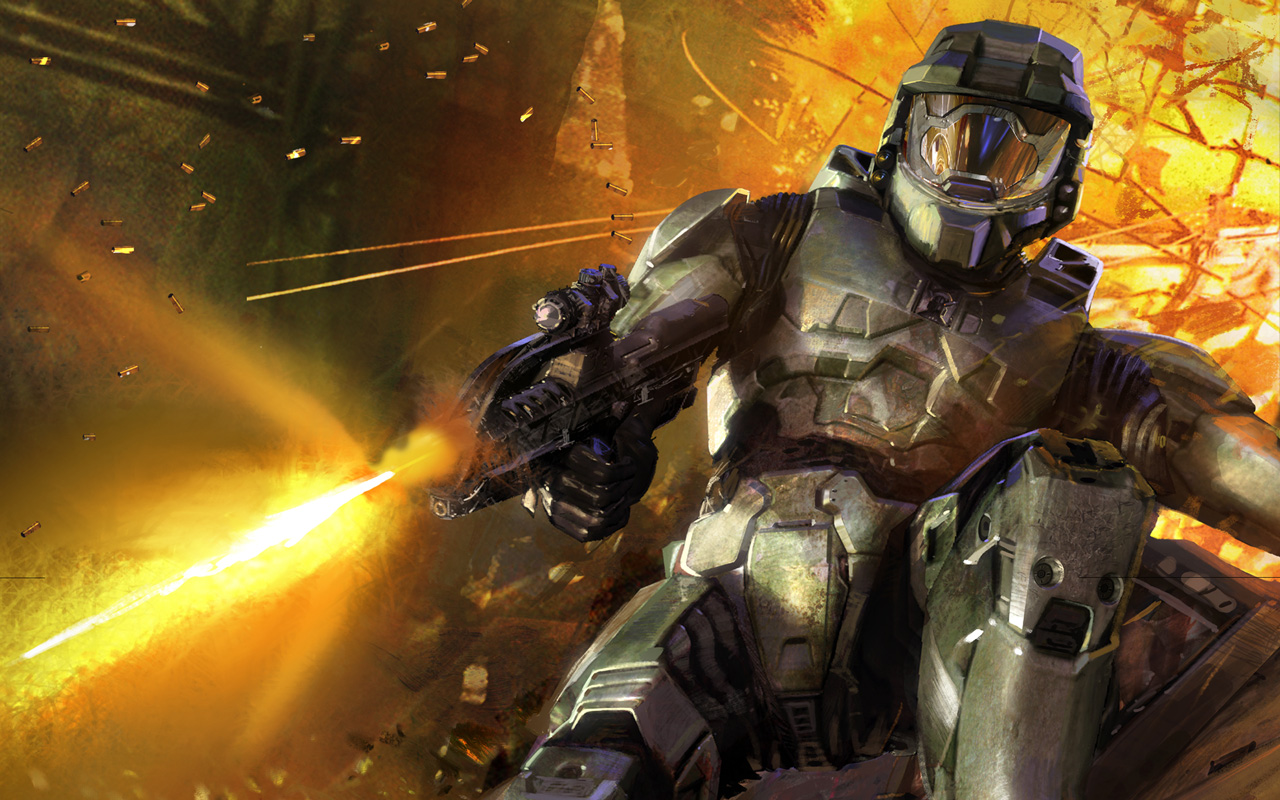 Free Halo 2 Wallpaper in 1280x800