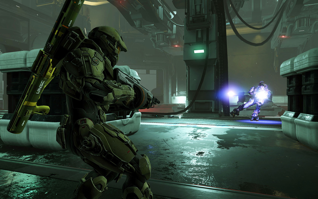 Halo 5: Guardians Wallpaper in 1280x800