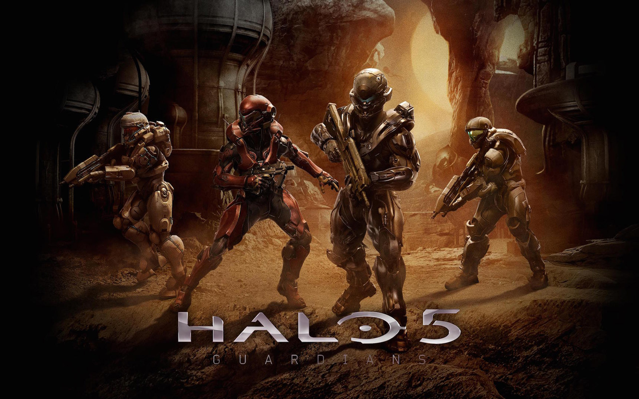 Free Halo 5: Guardians Wallpaper in 1280x800