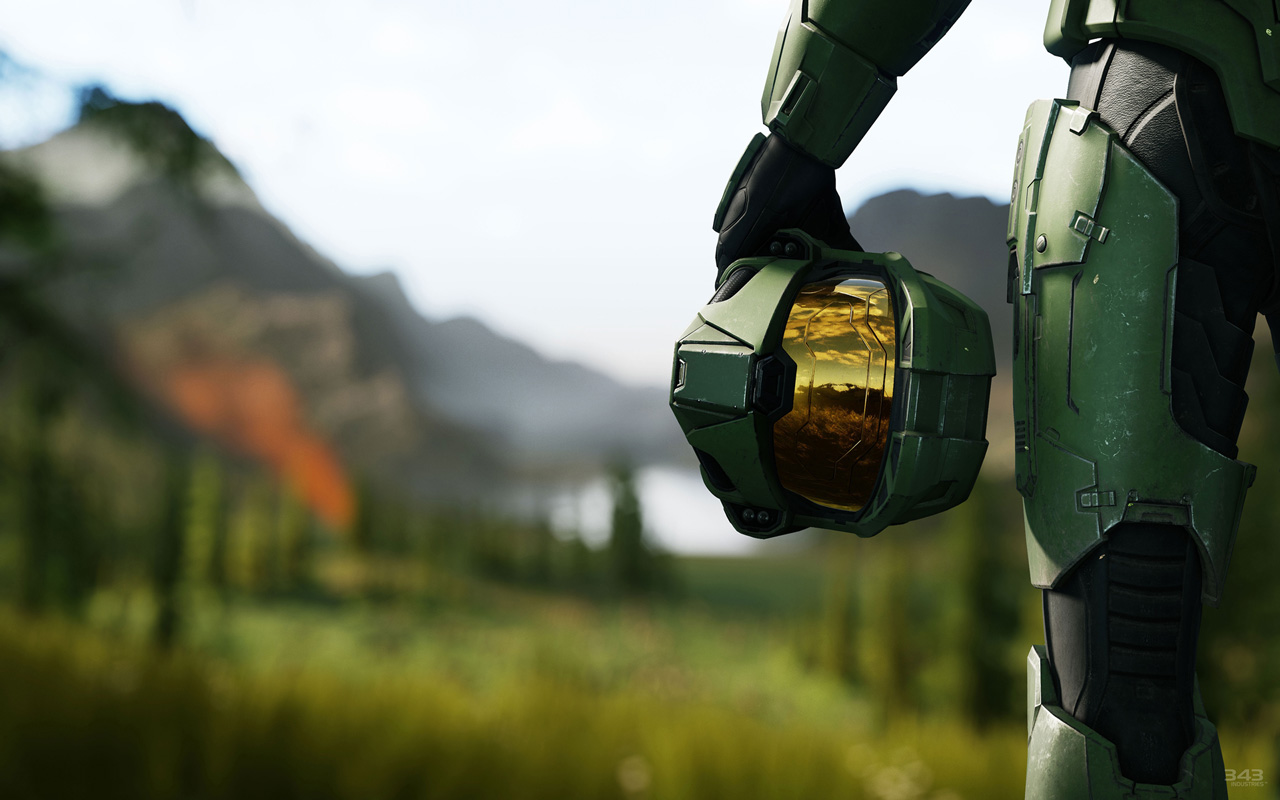 Free Halo Infinite Wallpaper in 1280x800