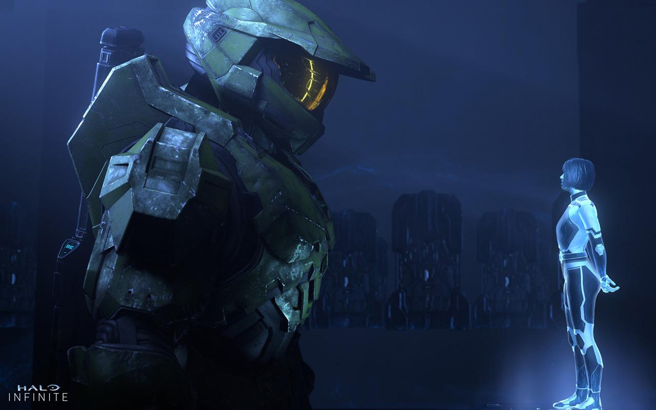 Free Halo Infinite Wallpaper in 1280x800