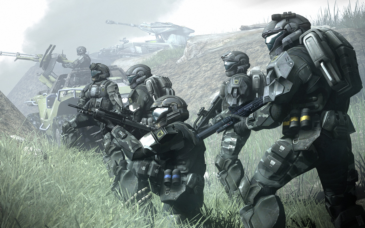 Free Halo 3: ODST Wallpaper in 1280x800