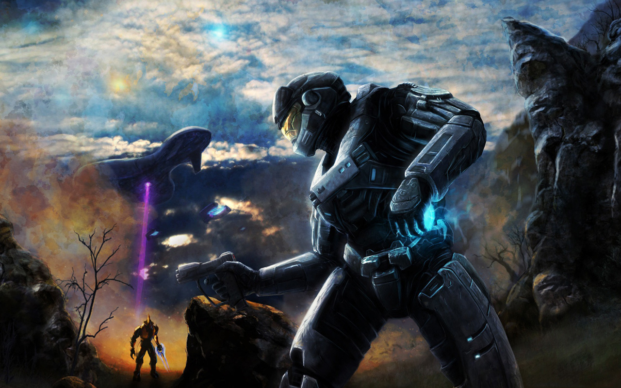 Free Halo: Reach Wallpaper in 1280x800