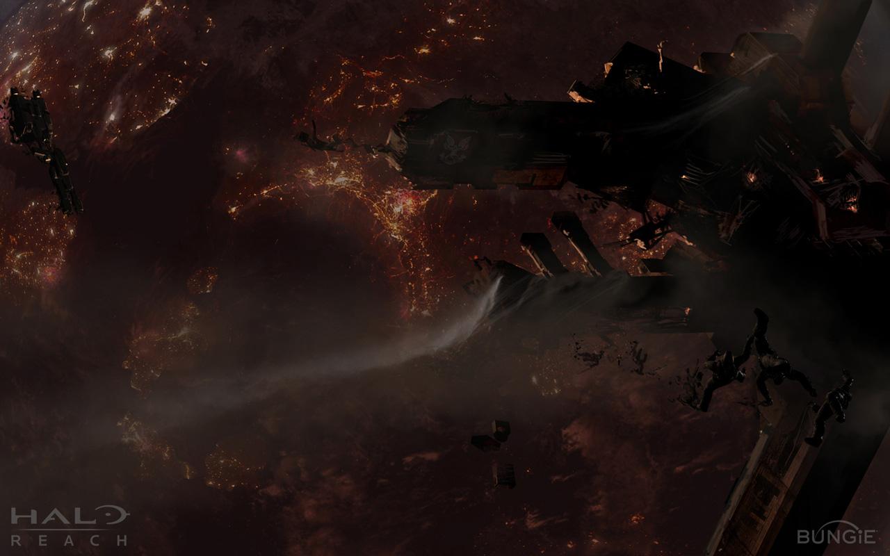 Halo: Reach Wallpaper in 1280x800