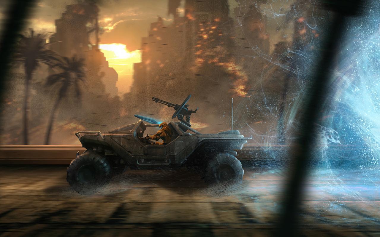 Free Halo: Spartan Strike Wallpaper in 1280x800