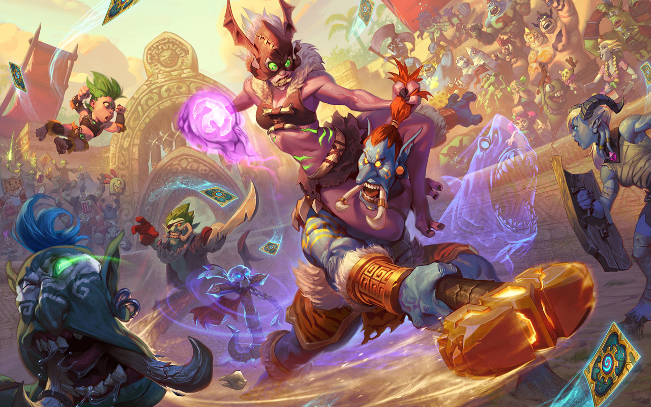 Free Hearthstone: Heroes of Warcraft Wallpaper in 1280x800