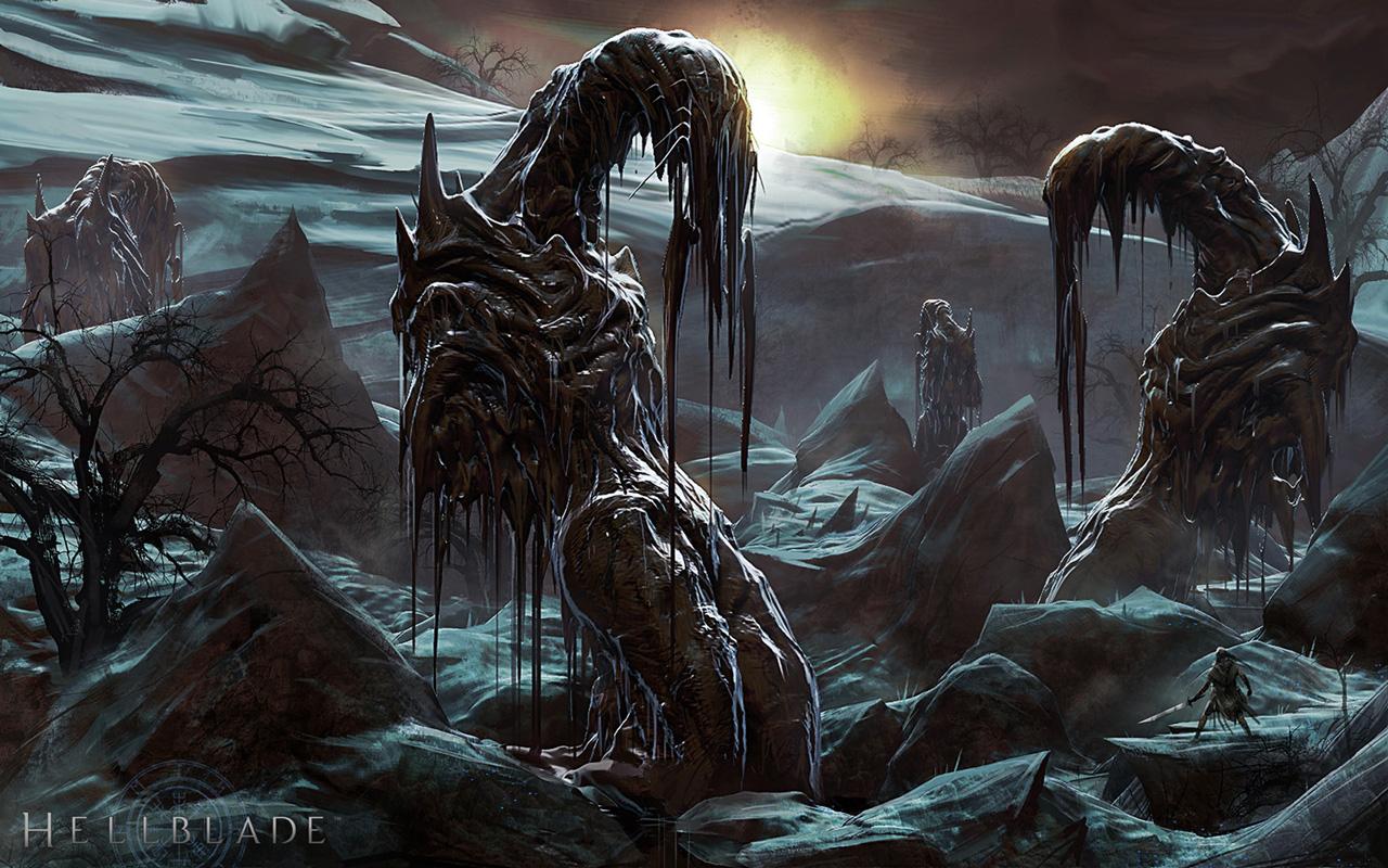 Free Hellblade: Senua's Sacrifice Wallpaper in 1280x800