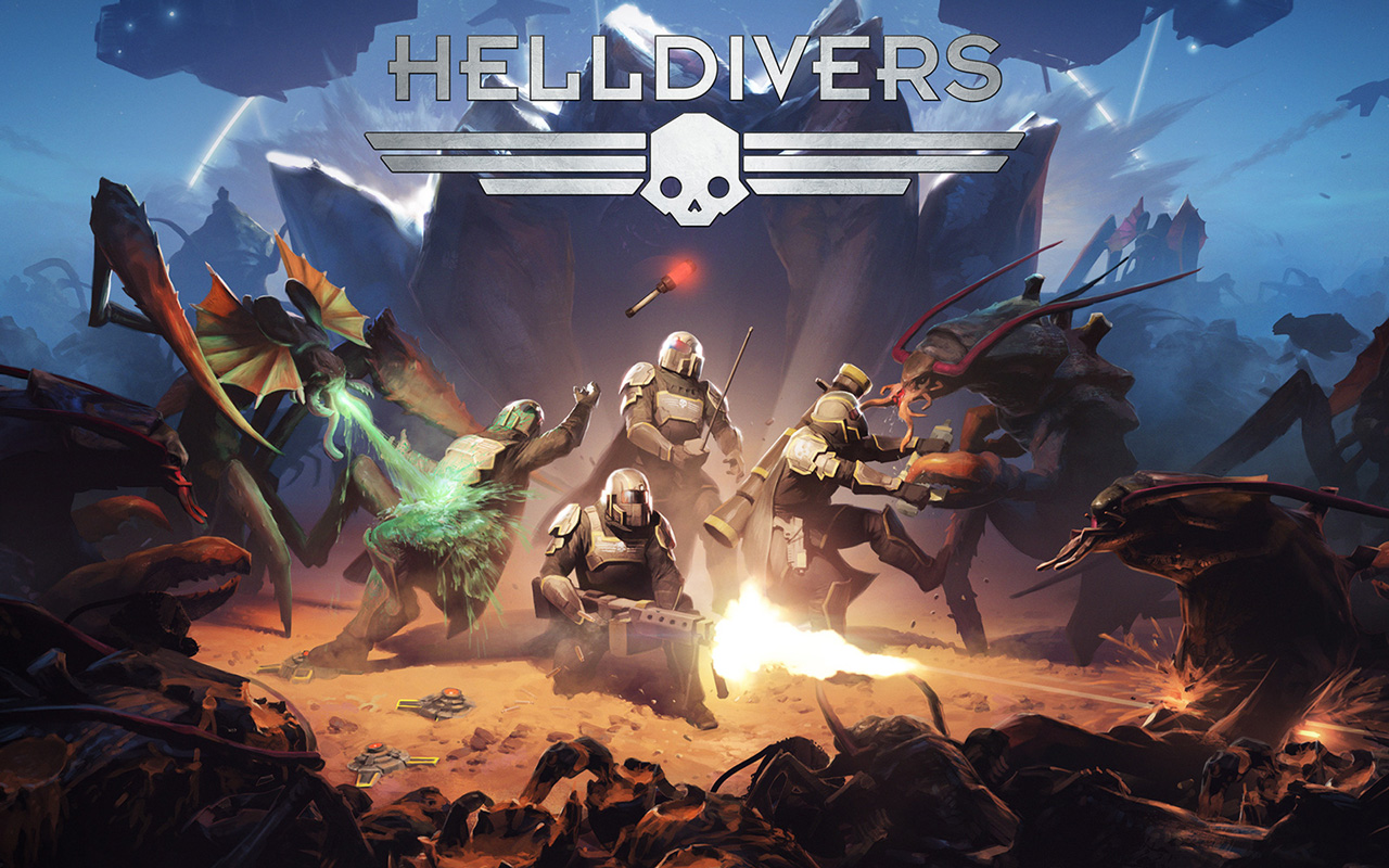 Free Helldivers Wallpaper in 1280x800