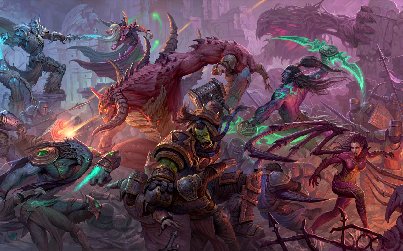 Free Heroes of the Storm Wallpaper in 1280x800